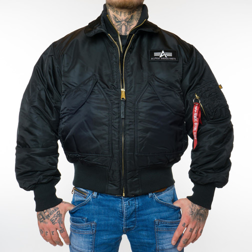 Alpha Industries X-Force Bomberjacke (Schwarz)