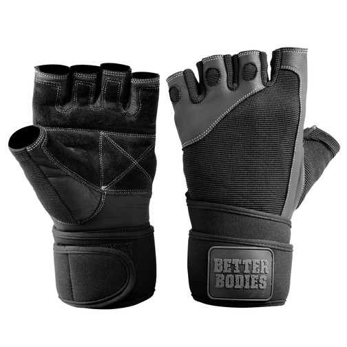 Better Bodies Pro Wristwrap Gloves (Schwarz)