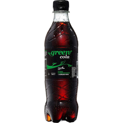 Green Cola (500ml, PET Flasche)